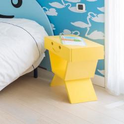 Table de chevet sourire pour chambre enfant