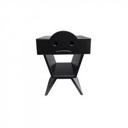 Table de chevet TRISTAN pour enfant, couleur noir