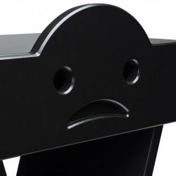 Zoom table de chevet TRISTAN pour enfant, couleur noir
