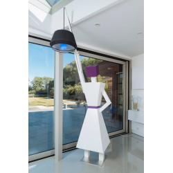 lampadaire cachotier