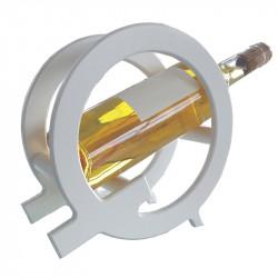 """Présentoir à vin """"Q"""", couleur blanc"""