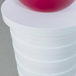 Meuble d'appoint cône design, fonctionnel et élégant