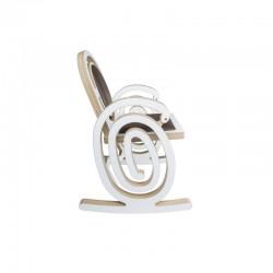 """Profil chaise à bascule """"Cobra"""" originale, design et élégante"""