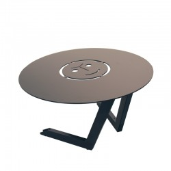 Table Basse En Metal Laque Pour Exterieur Ou Interieur Folie Du